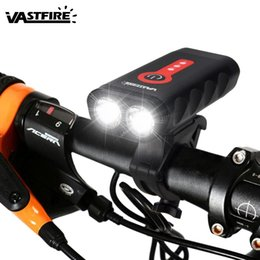 $enCountryForm.capitalKeyWord Australia - Upgrade USB Rechargeable Bicycle Light Waterproof L2 LED Front Bike Headlight 5 Modes Safety MTB Cycling Torch Built-in Battery #24328