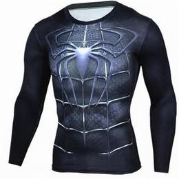 $enCountryForm.capitalKeyWord Australia - Mens Compression Shirts 3D Teen Wolf Jerseys Long Sleeve T Shirt Fitness Men Lycra MMA Crossfit T-Shirts Tights Brand Clothing C7