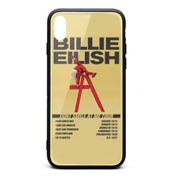 $enCountryForm.capitalKeyWord Australia - IPhone Xs Max Case 6.5 inch Billie Eilish Don't Smile At Me tour scratch-resistant screen protectors custom TPU Rubber Gel Silicone phone ca