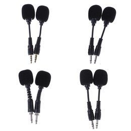 Mobile Interfaces Australia - 1 PC 10cm Mobile phone Mini 3.5mm Interface Flexible Microphone Stereo For iPhone Android