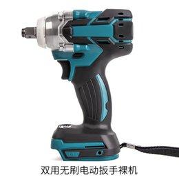 PRACMANU 18V électrique brushless impact rechargeable 1/2 Clé à douille outils électriques sans fil Sans Batteryaccessories Y200323 en Solde