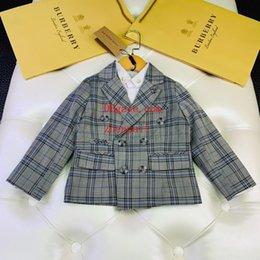 $enCountryForm.capitalKeyWord Australia - kids brand clothes boys 100%Cotton shirts causal autumn Clothing sets 2019 kids outfits 2pcs Suits baby kids jackets