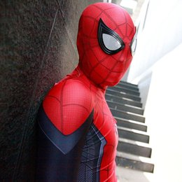 Cosplay Characters NZ - Movie game characters new version super super spiderman 2019 hero expedition cosplay one-piece tights play clothing