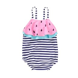 $enCountryForm.capitalKeyWord UK - Girls One Piece Swimsuit Watermelon Swimwear Bodysuit Kids Swimwear Children Beachwear Summer Beach Baby Girl Swimming Costume