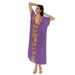 06abc7e928cda 2019 New Sexy Women Swimwear Tunic Dress Crochet Knit Deep V-Neck Robe  Femme Ete 2019 Short Sleeve Side Split Summer Beach Dress
