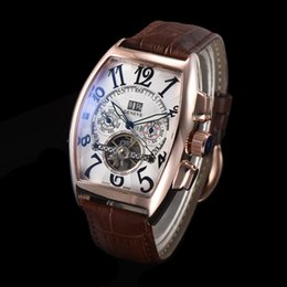 $enCountryForm.capitalKeyWord Australia - Swiss FM Luxury Watch Tourbillon Automatic Movement Mechanical Business Mens Watches Full Function all the pointers work With Gift Box