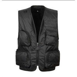 Wholesale photographers' vests resale online - 2019 New Summer Travel Vest Multifunctional Vest XL XL XL Photographer Many Pocket Shooting