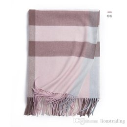 styling pashmina shawls Australia - High Quality Unisex Winter Warm Scarf 100% wool Plain Simple Style Shawl Inner Mongolia Neck Warm Pashmina 70*200cm