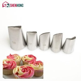 nozzle for pastry Australia - Rose Leaves Nozzle Icing Piping Tips Leaf Korea Stainless Steel Pastry Cake Decoration Tools for the Kitchen Baking