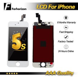 Iphone Screen Testing Australia - For iPhone 5S LCD Display 5 5S 5C Tested A+++ LCD Display Touch Screen Digitizer Replacement & Free DHL Shipping