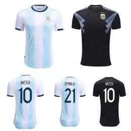286c5558b88 3XL 4XL football shirt 2019 argentina soccer jerseys cop america MESSI  Camiseta de futbol DYBALA DI MARIA BIGLIA AGUERO maillot de foot