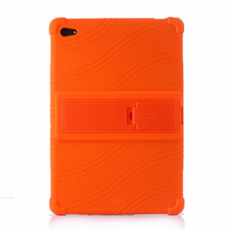$enCountryForm.capitalKeyWord UK - 50pcs Soft Silicon TPU Back Cover Case Stand for Huawei MediaPad M5 Lite 10 BAH2-L09 BAH2-W19 BAH2-AL09 10.1 inch Tablet