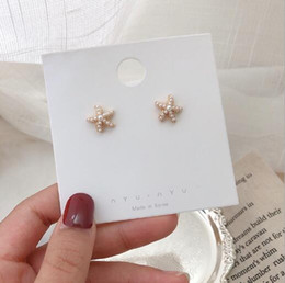$enCountryForm.capitalKeyWord Australia - Exquisite design Starfish girl Earring 2019 new inlay full diamonds High quality made fashion luxury direct deal PE-0025