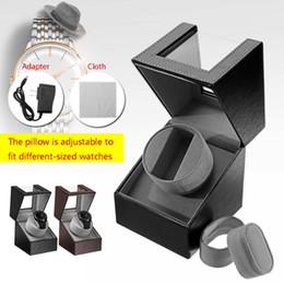 $enCountryForm.capitalKeyWord Australia - US Plug 110-220v AC Adapter Automatic Rotation Watch Winder Display Case Storage Organizer Box W  Mute Motor 6.5-8.5r min Adjust
