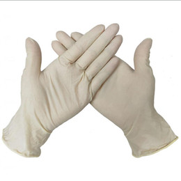 latex kitchen glove NZ - Disposable protective Nitrile latex Gloves Food Gloves Universal Household Garden Cleaning Gloves Food Handling Kitchen Accessories LJJA4042