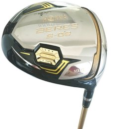 Novos clubes de Golfe HONMA S-06 driver 9.5 ou 10.5 loft Golf driver Grafite do eixo R ou S eixo de Golfe Frete grátis em Promoção