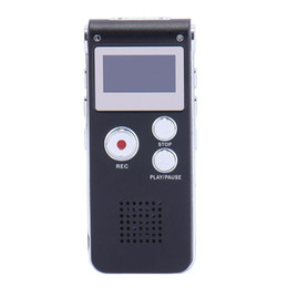 Mini Digital Audio Voice Recorder Rechargeable Dictaphone Telephone MP3 Player Fashion New from recorder spy manufacturers