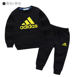 $enCountryForm.capitalKeyWord Australia - 2019 Hot Baby Boys Outfits Toddler Letter Top+pants 2pcs Set Spring Autumn Fashion Children Tracksuit Kids Clothing Sets