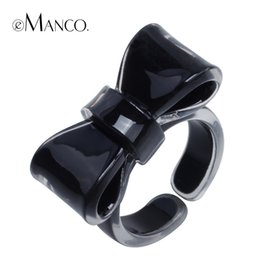 Chic Rings Australia - ashion Jewelry Rings eManco Halloween Popular Chic Personalized Creative Candy Color Cuff Rings for Women & Girls Gifts Brand Fashion...