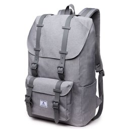 $enCountryForm.capitalKeyWord UK - 2019 Gray Laptop Backpack Men USB Port Anti Theft Oxford Waterproof School Bags For Teenagers Travel Backpacks For Notebook Bag