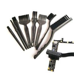 Discount circuit board repair tools - Brush Tools BGA Cleaning Brush Anti-static Tools Set for Cell Phone PC Motherboard Circuit Board Flux Paste 8pcs set Rep