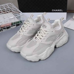 koreans fashion sneakers NZ - 2019 New White Foam Paranoid Ice Casual Shoes Original Trainers Sneakers Lace Up Shoe Women's Fashion Korean Style jasmine11