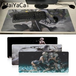 Large game mouse pad online shopping - MaiYaCa My Favorite D NieR Gamer Speed Mice Retail Small Rubber Mousepad Anime Cartoon Print Large Size Game Mouse Pad