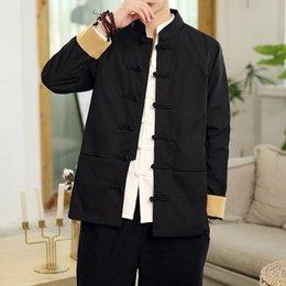 $enCountryForm.capitalKeyWord Australia - 2019 High Quality Dragon Embroidery Coat Bomber Jacket Coat Men Chinese Style Male Jackets Vintage Casaco Masculino Chaquetas Hombre Homme