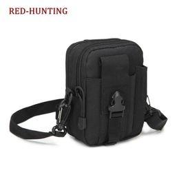 Edc Gear Waterproof Australia - Amry Gear Molle Tactical Shoulder Bag Outdoor waist bag For Camping Hiking Hunting Waterproof EDC Bag Waist Pack For Phone #342684