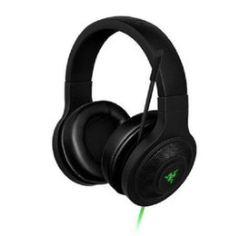 Wholesale 2020 New Razer Kraken Essential Headphone Noise Isolating Over-Ear wired Gaming Headset Analog 3.5 mm with Mic for PC Laptop Phone Gamer