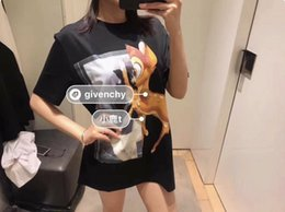$enCountryForm.capitalKeyWord Australia - 19ss New luxurious Design Colour printing Spotted deer given Tee Shirt Men Women Breatheable Fashion Streetwear Sweatshirts Outdoor T-shirt
