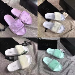 unicorn slippers UK - Unicorn Slippers Women Indoor Shoes Cartoon Home Slippers Plush Warm Winter Shoes Woman Slip On Soft Animal Female Slides New DE Y200106#354