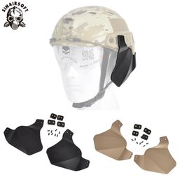 Pottery & Glass Helmet Side Rail Mount Guide Abs Holder Outdoor Accessories Wing-loc Picatinny Adapter Fast Helmets Year-End Bargain Sale