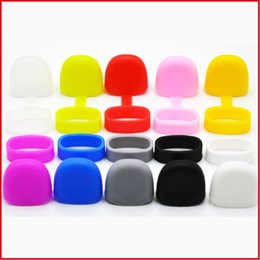 silicon skin protective case cover 2019 - 50PCS Silicone Dust proof Cap for GTRS F1 Mlife Rubber Protective Cover Skin Dust Proof Sleeve case for Pods Vape Pen Ca