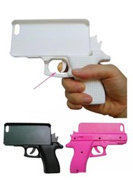 iphone toy case UK - Fashion 3D Gun Shape Hard PC Phone Shell Case Cover for iPhone XR 7 8 Plus X XS MAX Pistol toy Style