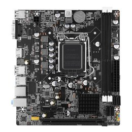 Motherboard B75 Australia - CPU Interface Mainboar Desktop Computer DDR3 USB3.0 Network Card Professional Motherboard B75-1155 LGA 1155 Accessories Durable
