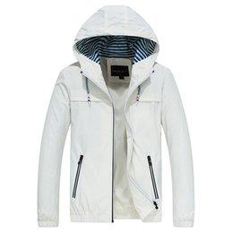 $enCountryForm.capitalKeyWord Australia - Hooded Jacket Men's Casual Zipper Windbreaker Coat Men Jacket Plus Size 4XL Mens with Hood Autumn Spring 2019 New