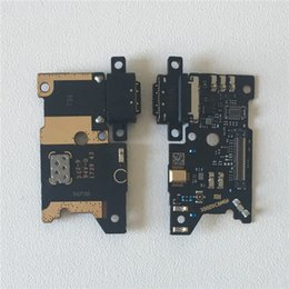 note boards NZ - Original M&Sen For Note 3 Mi Note 3 Charging Charger Dock Connector Port Board Micro Flex Cable USB Mic Microphone Parts