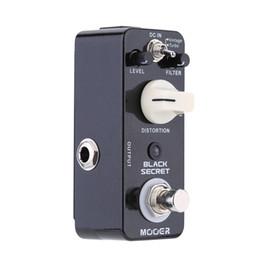 $enCountryForm.capitalKeyWord Australia - Mooer Black Secret Micro Mini Distortion Electric Guitar Effect Pedal True Bypass Guitar Bass Guitar Parts & Accessories