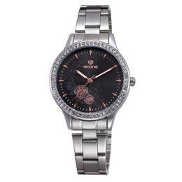 Wholesale Female Wrist Watches Australia - Skone 7324 Fashion Quartz Watch Women Watches Famous Watches Women Female Clock Ladies Wrist Watch Relogio Feminino