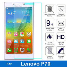 lenovo p NZ - For Lenovo P70 P 70 Tempered Glass Screen Protector 0.26MM 9H Safety Protective Film On P70-T Dual Sim TD-LTE pelicula de vidro