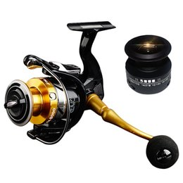 gear spin NZ - 14+1 BB Double Spool Fishing Reel 5.5:1 Gear Ratio High Speed Spinning Fishing Reel Carp For Saltwater STR3000