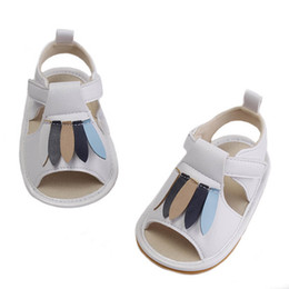 Infant Girls Sandals UK - New baby shoes toddler shoes designer baby girl shoes Summer newborn sandals infant sandals leather toddler girl sandals 0-1t A5658