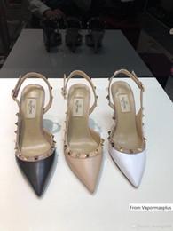 Big tv s online shopping - Summer Popular Style Women s Heels CM Valen Rivet Espadrilles Shoes Sandals Leather Slippers Flip Flop