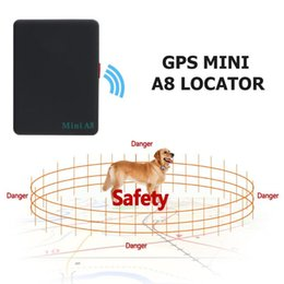 $enCountryForm.capitalKeyWord NZ - Mini A8 Portable GSM GPRS Tracker 3.7V 500 MA lithium-Ion Battery Global Real Time Tracking Device for Car Kids Elder Pet GPS