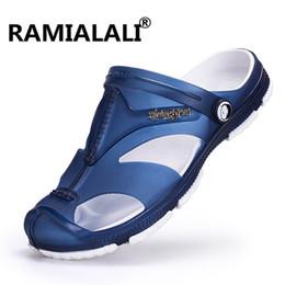 aa1dad07d208 Mens Slippers Wholesale UK - Ramialali Mens Flip Flops Sandals Casual Men  Shoes Summer Fashion Beach