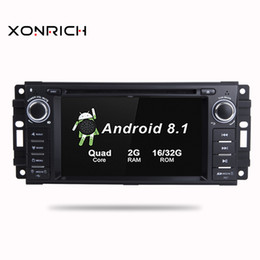 $enCountryForm.capitalKeyWord Australia - 2 Din Android 8.1 Car DVD Player For Jeep Grand Cherokee Chrysler 300C Compass Patriot Dodge Sebring GPS Navigation Radio Stereo