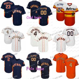 $enCountryForm.capitalKeyWord Australia - 4 George Springer Houston Alex Bregman Astros Michael Brantley Jose Altuve Carlos Correa Josh Reddick Justin Verlander Gurriel Jerseys