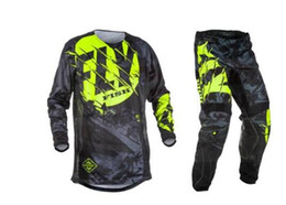 $enCountryForm.capitalKeyWord NZ - 2019Fly Fish Pants & Jersey Combos Motocross MX Racing Suit Motorcycle Moto Dirt Bike MX ATV Gear Set