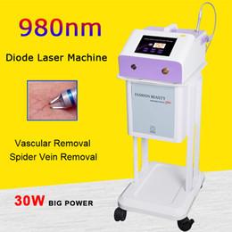 $enCountryForm.capitalKeyWord Australia - 980nm diode laser High power 30W vascular spider vein removal machine red blood silk remover 980 laser machine